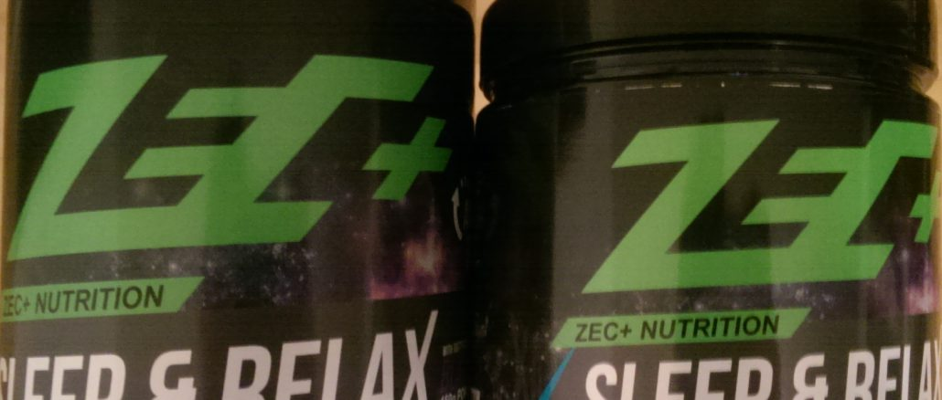 2 Dosen des Schlafsupplements Sleep&Relax